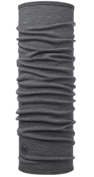 Buff Midweight Merino Wool Melange sjaal grijs